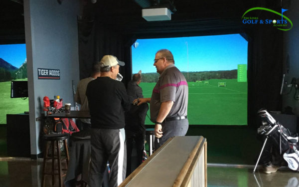 Gallery - The Links Golf - Indoor Golf HD Golf Simulators offers Championship Golf Courses, Complete Practice Facilities, Advanced Ball/Club Tracking, and Tournaments in Stoney Creek, Hamilton.